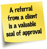 Thank You For Your Referrals!