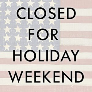 holiday-weekend-closed