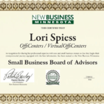 Lori Spiess added to Small Business Board of Advisors