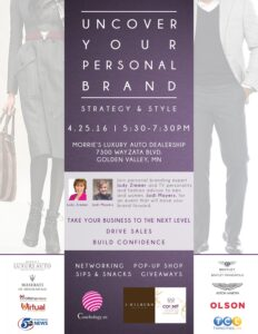 Uncover Your Personal Brand - Apr 2016 Flyer