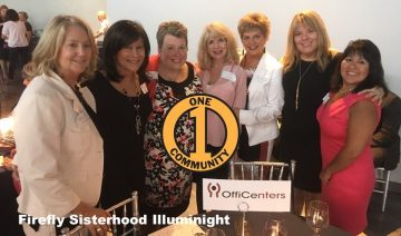 OffiCenters sponsors Illuminight Event, Supporting The Firefly Sisterhood