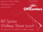 Fishing for Life Tournament & Bill Spiess Shore Lunch