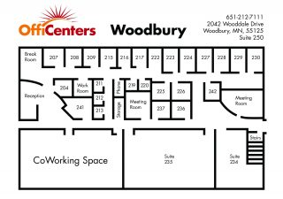 Opening March 2018: Woodbury OffiCenter!