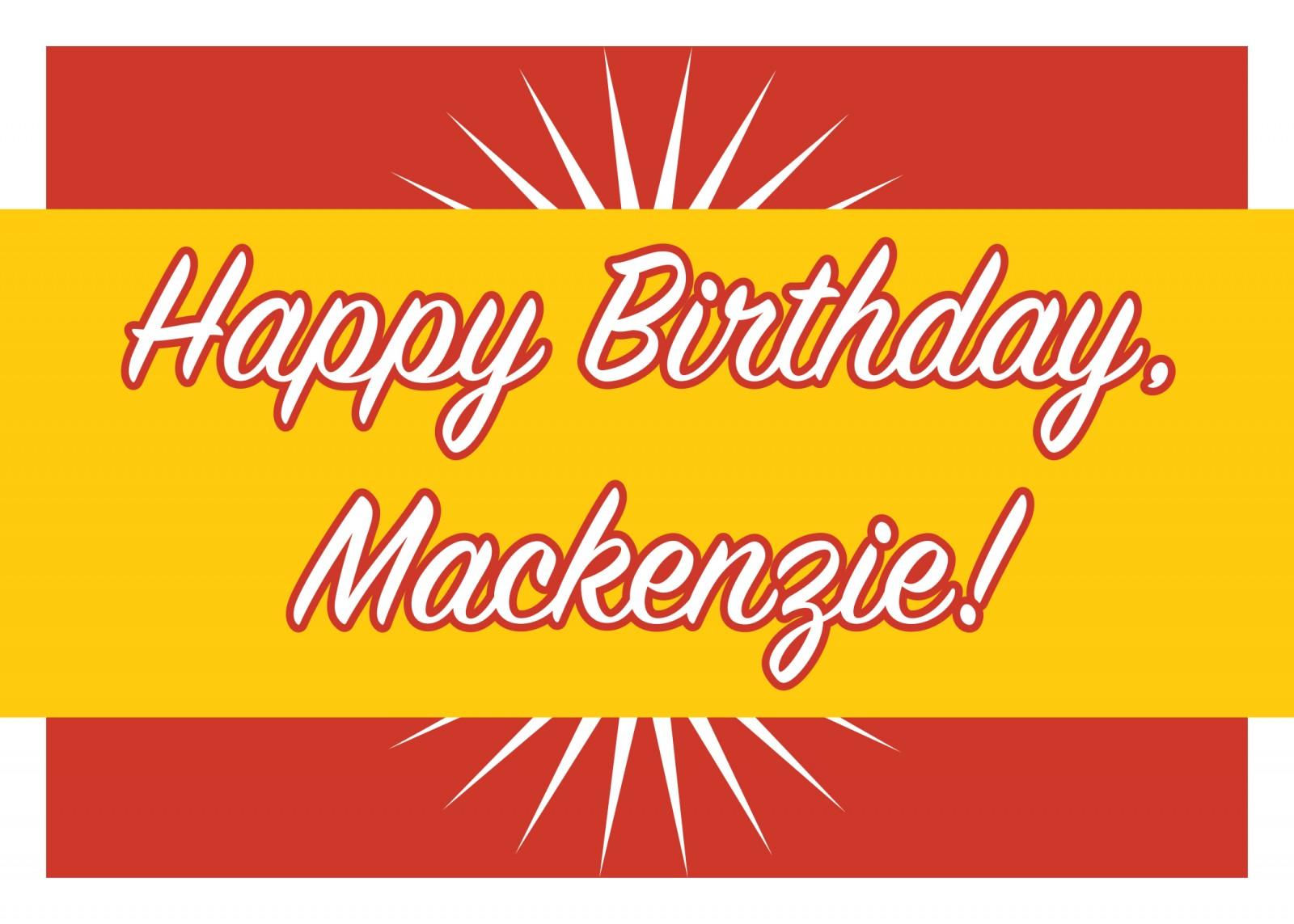 happy birthday  mackenzie  - officenters