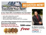 Transform Your Team!