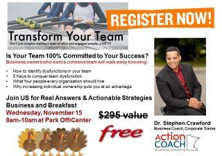 Transform Your Team!