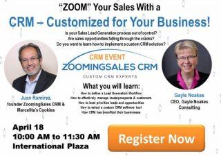 ZOOM Your Sales!