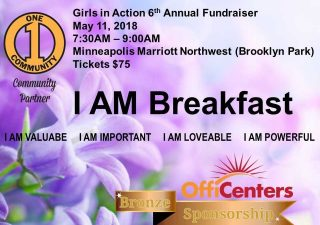 Girls in Action 'I AM' Breakfast