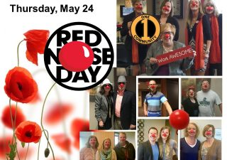 May 24 is Red Nose Day!