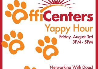 Yappy Hour! It's Going to be PAWsome!