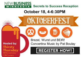 Join us for an Oktoberfest themed Networking Event!