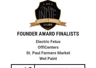 OffiCenters a 2018 Award Finalist!