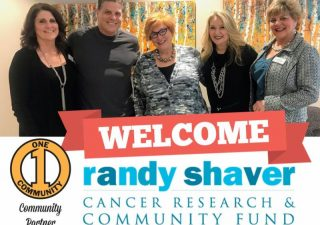 Welcome Randy Shaver Cancer Research & Community Fund!
