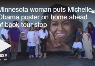 Michelle Obama poster to benefit Girls In Action!