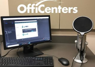 First Podcast Room Open at Park OffiCenter!